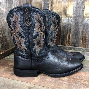 Ariat Black Square Toe Cowboy Boot